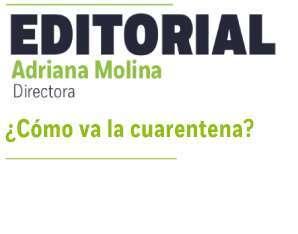 Editorial por Adriana Molina